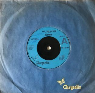 "Blondie ‎- The Tide Is High (7"") (G/G++)"